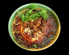 beef noodles. use gluten free noodles