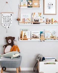 56 ideas for mid century modern kids room design Kids Storage, Wall Storage, Bedroom Storage, Book Storage, Storage Ideas, Organization Ideas, Playroom Organization, Bookcase Storage, Photo Storage