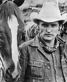 """The Last Movie"" (aka ""Chinchero"") Dennis Hopper 1971 Universal Pictures Actors Male, Actors & Actresses, Classic Hollywood, Old Hollywood, The Last Movie, Dennis Hopper, Hippie Culture, Riders Jacket, Denim Shirt With Jeans"