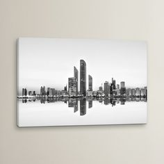 Mercury Row Urban Reflection by Akhter Hasan Photographic Print on Wrapped Canvas