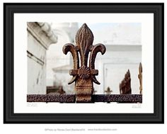 Fleur de Lis  New Orleans Photography by Renee Dent Blankenship of theRDBcollection, for sale in varying sizes