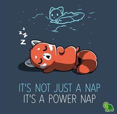Power naps are Full of Power!