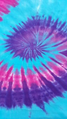 #tie dye #purple #blue #pink