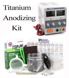 Shop a great selection of Titanium Anodizing Kit Jewelry, Dental, Medical Supplies. Find new offer and Similar products for Titanium Anodizing Kit Jewelry, Dental, Medical Supplies. Baby Oil Gel, Aveda Be Curly, Badger Shaving Brush, Green Soap, Cosmetic Tattoo, Jewelry Tattoo, Tattoo Supplies, Medical Equipment, Medical Care