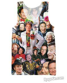 Robin Williams Paparazzi Tank Top