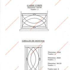 le ferronnier grille de fen tre en fer forg vicky. Black Bedroom Furniture Sets. Home Design Ideas