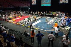 Area high school students enter robot competition at Xfinity Center - The Diamondback : News