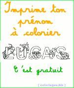 Coloriages gratuits - pr�nom � imprimer gratuit