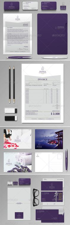 Invoice - #Proposals \ Invoices #Stationery Download here   - indesign invoice template