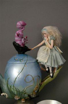 Alice in Wonderland - (artist doll)