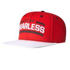 Nikki Bella Logo Fearless Unisex Adjustable Flat Brim Hat Baseball Cap Black