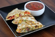 Applebee's Chicken Quesadillas Grande Knockoff | AllFreeCopycatRecipes.com