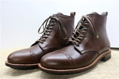 Handmade Goodyear Welted  Men's Short  Boots by ColorShoesColorLife on Etsy https://www.etsy.com/listing/200574743/handmade-goodyear-welted-mens-short