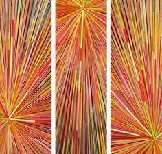 "Biff Bang Pow I . 24"" x 27"" . Colored Pencils . 2009 ."