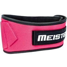 Meister Contoured Neoprene Weight Lifting Belt - Pink - Large / X-Large - Walmart.com