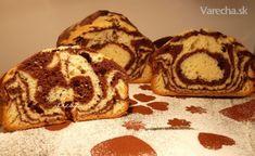 Mramorový koláč z pekárničky (fotorecept) - Recept Cooking Recipes, Cookies, Desserts, Html, Food, Crack Crackers, Tailgate Desserts, Deserts, Chef Recipes
