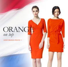 Orange on Top