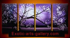 Asian Painting Feng Shui Art Abstract Art Oil on Canvas