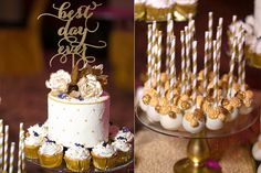 Modern Opulent Wedding Dessert Table – The Sweet Hostess