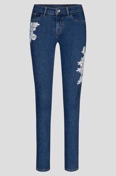 Fashion Brand, Fashion Design, Embroidery Patches, Young Fashion, Jeggings, Personal Style, Skinny Jeans, Denim, Pants