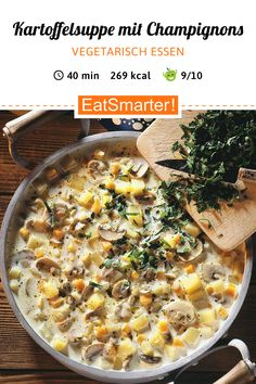 Healthy Soup Recipes, Veggie Recipes, Soup Starter, Running Food, Cheeseburger Soup, Soup Kitchen, Good Food, Veggies, Food And Drink