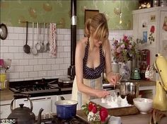 I loved the kitchen from Sophie Dahl's tv show. I also loved her cook book.