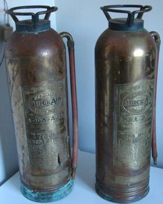 antique fire extinguisher  If we have a boy I'm so doing his nursery in an antique fire fighter theme!