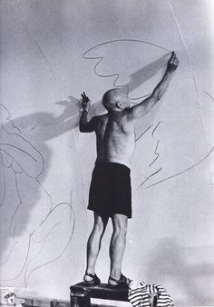 Picasso working