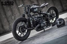 "BMW Street Bobber ""Diablo Machine"" by K-Speed - Photo by OverRide #motorcycles #bobber #motos 