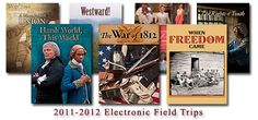 See video examples of the 7 electronic field trips about American History. These are GREAT for Classical Conversations Cycle 3 or students learning American History.