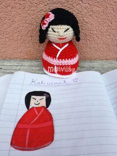 Amigurumi Kokeshi Dolls, Crochet Hats, Marvel, Blog, Amigurumi, Knitting Hats, Marvel Marvel, Blogging