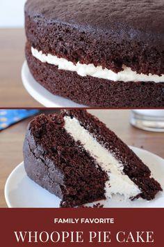 Chocolate Whoopie Pies, Tasty Chocolate Cake, Chocolate Lasagna, Chocolate Desserts, Cookie Recipes, Dessert Recipes, Loaf Recipes, Fudge Recipes, Copycat Recipes