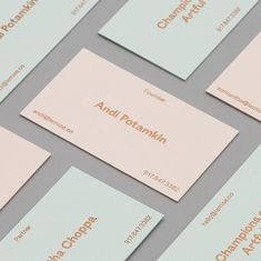 Today, previously featured DIA Studio unveiled a new brand identity for Le Mise, which is the Art Advisory concept of Andi Potamkin. Graphic Design Branding, Corporate Design, Identity Design, Brand Identity, Visual Identity, Business Branding, Business Card Design, Logo Branding, Logos