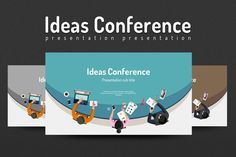 Ideas Conference by Good Pello on @creativemarket