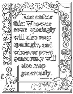 Bible Verse Coloring Page, Love Coloring Pages, Coloring Sheets, Coloring Pages For Kids, Colouring, Coloring Books, Camping Coloring Pages, Sunday School Coloring Pages, Christian Sayings