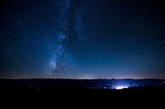 The view from the top of the White Mountains in Inyo National Forest, California, might be a bit drab during the day, but it transforms completely by night (often revealing the Milky Way and Andromeda Galaxies to the naked eye).