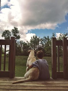 a boy and his dog #photography