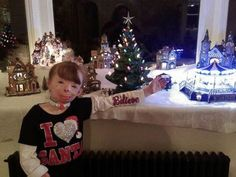 PHOTO: Safyre, 8, loves spreading holiday cheer, her aunt, Liz Dolder, told ABC News.