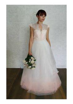 Ehi, ho trovato questa fantastica inserzione di Etsy su https://www.etsy.com/it/listing/503187936/wedding-dress-gradient-pink-bridal-gown
