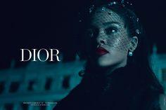Rihanna Na Dior :: A Primeira Negra Na Maison