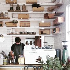 Espresso bar at @tall_timber in Prahran - image @cynthiagraphy #acmecups #specialtycoffee #melbourne #acmeforlife (at Tall Timber)