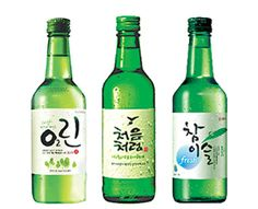 Korean Alcohol   Soju   Distilled Rice Liquor -  Soju is the best known liquor from Korea.  It is distilled, vodka-like, rice liquor with high potency and often flavored similarly. It is smooth and clean in taste, which makes it easy to drink in combination with various Korean dishes. The main ingredient of soju is rice, almost always in combination with other ingredients such as wheat, barley, or sweet potatoes.