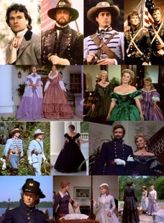 North & South: Great miniseries from the 80's; do you recognize all the now famous faces?