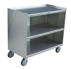 Stainless Steel Mobile Cabinets With Three Shelves are available at A Plus Warehouse