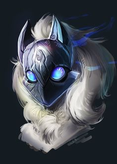 """My fan art of the upcoming League of Legends champion. """"Beauty Beneath the Mask"""" Kindred League of Legends Lol League Of Legends, League Of Legends Kindred, League Of Legends Characters, Fantasy Creatures, Mythical Creatures, League Of Legends Wallpaper, Lambs And Wolves, Splash Art, Logo Image"""