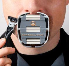 GoateeSaver è una mascherina per la rasatura del pizzetto e della barba in stile Van Dyke GoateeSaver http://www.amazon.it/dp/B001F2B3P8/ref=cm_sw_r_pi_dp_Hgdevb179ZKVF