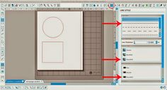 Making Polka Dot Shapes in Silhouette Studio: line style:  Moving down the window, in both the Corner Style and End Cap options select 'rounded'.  Finally, adjust the line thickness to create smaller or larger polka dots.