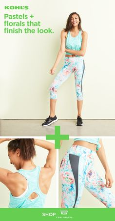c8cf0704446d5 Find Tek Gear workout clothes at Kohl's. Stylish + versatile patterns and  prints are easy