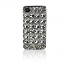 Diamante iPhone case and - Add some class to your iPhone with this glass diamond iPhone case.Diamante iPhone case - iPhone 4 and 5 - Add some class to your iPhone with this glass diamond iPhone case. Iphone 4, Iphone Cases, Plugs, Gadgets, Diamond, Gifts, Stuff To Buy, Presents, Diamonds