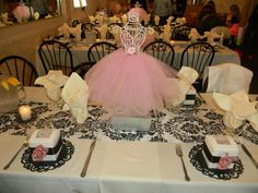 Baby Shower TuTu Cute!